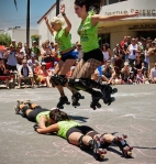 Brawlin' Betties 1, Solstice Day Parade, Santa Barbara, 2011